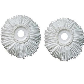 GTC Pack of 2 Replacement Head Refill for 360 Rotating Easy Spin Mop Cleaner Duster