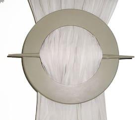 H & W Fiber Tie-backs White
