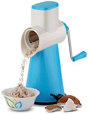 Hallmark Kitchenware Drum Vegetable Slicer And Shredder With 3 Different types Stainless Steel Blades