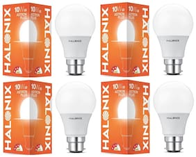 Halonix 10W-6500K Astron Plus Led Bulb Pack Of 4
