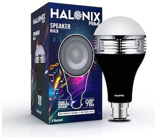 Halonix 9W Led Bulb With Bluetooth Speaker Pack Of 1