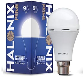 Halonix Inverter Led Bulb B22 9 W