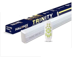 Halonix PRIME 20W Remote Control, Colour Changing & Dimmable( 2W-20W ) 4FT LED BATTEN TRINITY SQ WREMOT (Pack of 1)