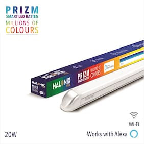 Halonix Wifi Smart Prime Prizm 20 Watt B22 Million Colour Led Batten Pack 1