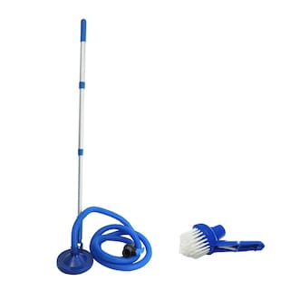 Hanbaz Water Tank Cleaner (Blue) | Easy Water Tank Cleaning Product With Free Brush Head - Universal Addition (Jet Series)