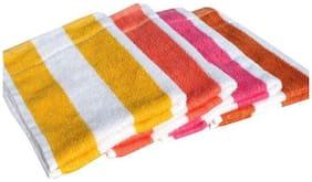 Hand towel set of  4 (multicolour)