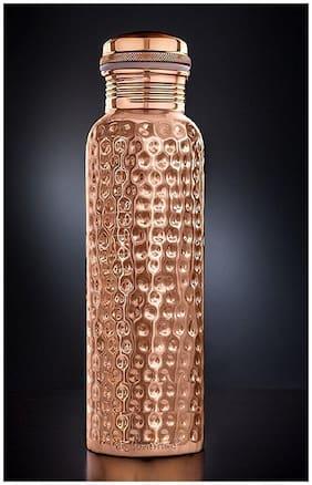 DVM Copper Copper Water Bottle ( 750 ml , Set of 1 )