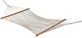 Hang It The Hammock Store 48''W X 11'ft Cotton Rope Hammock Swing For Single Person Use