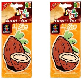 Hanging Air freshners  Set of 2 pcs Coconut