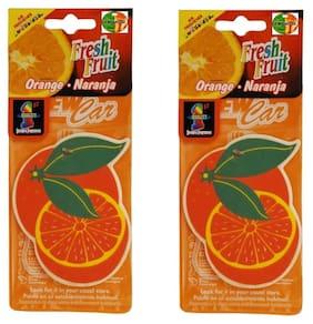Hanging Air freshners  Set of 2 pcs Orange