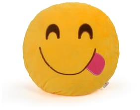Cortina Happiness Smiley Pillow-001
