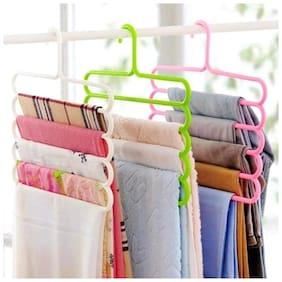 HappiStar Plastic Assorted Hangers ( Set of 3 )