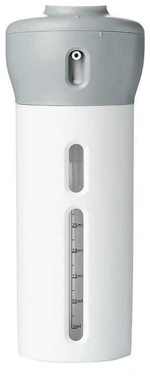HappiStar Shampoo Bottle Dispenser for Bathroom Wash Basin | Soap, Lotion, Gel & Shampoo Dispenser (Pack of 1)