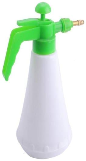 hardik Multi Purpose Home Terrace Garden Organic Gardening Air Pressure Water Spraying Pump Mist Spray Plastic White Bottle 1.5 L Hand Held Sprayer