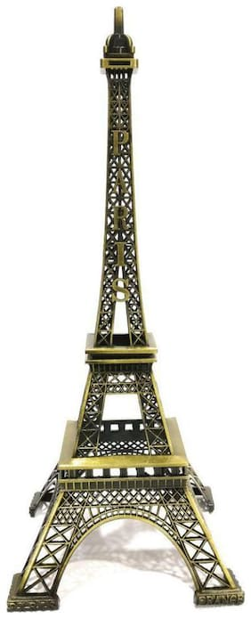 hardik Tradition-Gold-Metal-Sculptures-effil tower statue for home and office