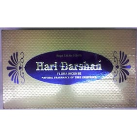 Hari Darshan Flora Agarbatti Natural Fragrance Of True Existence Pack Of 5 by IS