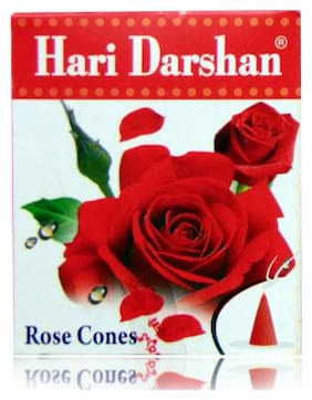 Hari Darshan Rose Canes Dhoop Bati Collection Pack Of 12 by IS