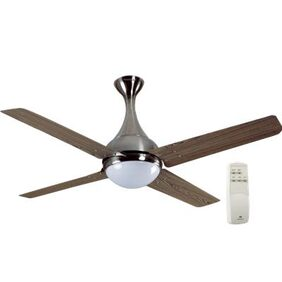 Havells Dew 4 (1320 MM)Ceiling Fan (Viking Teak Brushed Nickel)