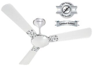 Havells Enticer Art 1200 MM Ceiling Fan (Pearl White Chrome)