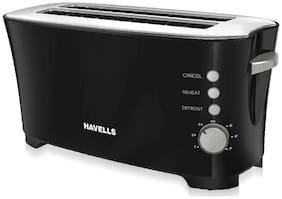 Havells FEASTO 2 Slices Pop-up Toaster ( Black )