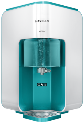 Havells Max 8 L RO+UV Electric Water Purifier (Silver)