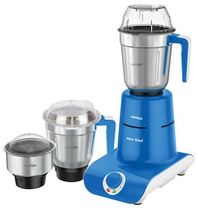 Havells MAXX GRIN 750 W Mixer Grinder ( Blue , 3 Jars )