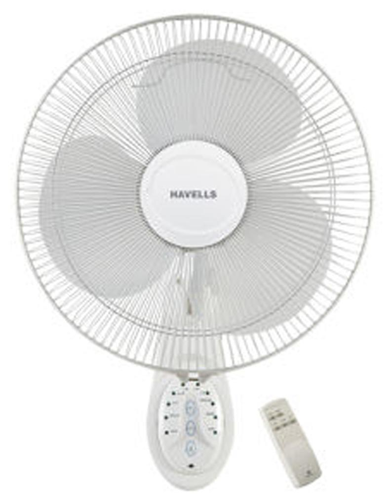 Havells Platina Remote 400 MM Wall Fan (White)