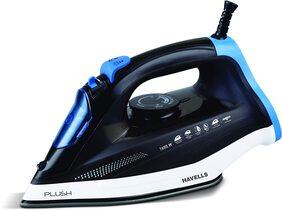 Havells Plush Steam Iron (Black And Blue)