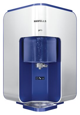 Havells Pro 8 Litres RO+UV Electric Water Purifier (Silver)