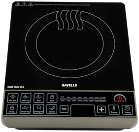 Havells ST-X 2200W 2200 W Induction Cooktop ( Black , Touch Panel Control)