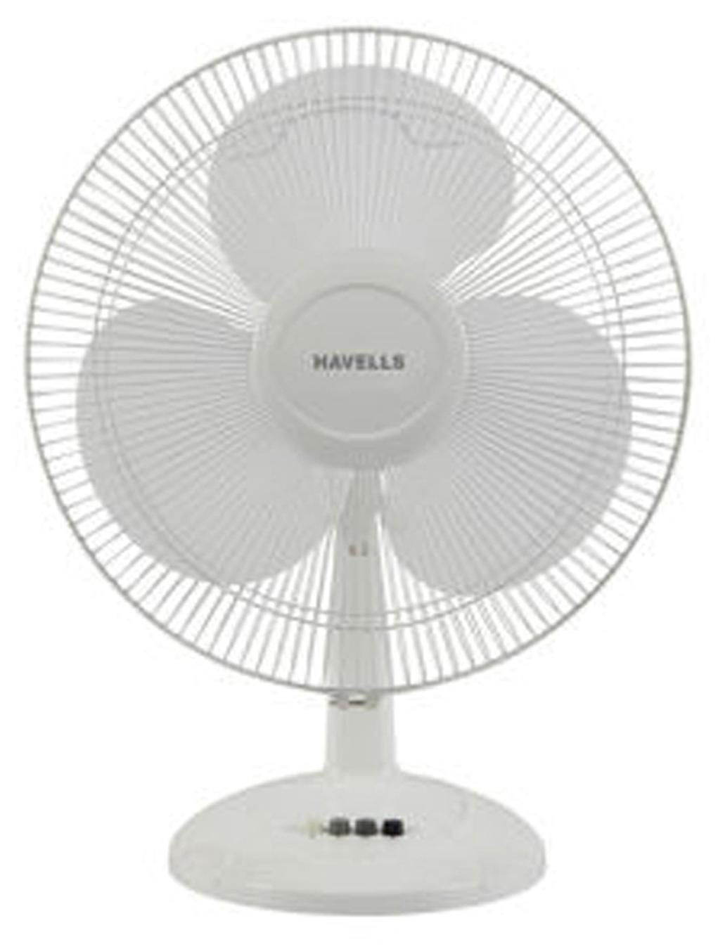 Havells Swing LX 400 MM Table Fan (White)