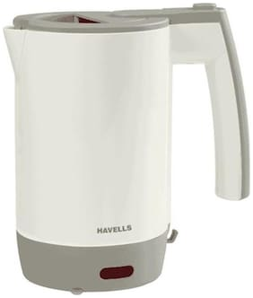 Havells Travel Lite 0.5 L 1000 Watts Electric Kettle (Grey)
