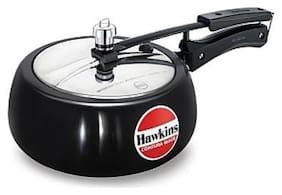 Hawkins Contura 3.5 L Inner Lid Pressure Cooker ( Black , Aluminium , Set of 1 )