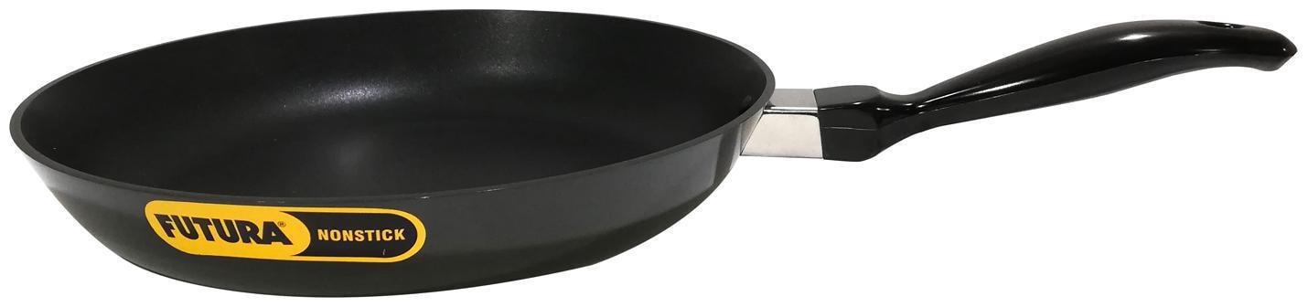 Hawkins Futura Nonstick Frying Pan, Capacity 2.5 Litre, Diameter 30 cm, Thickness 3.25 mm, Black by Gupta Brass Store