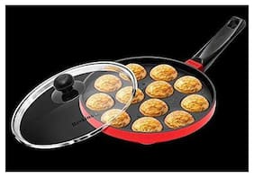 Hawkins Nonstick Appe Pan with Glass Lid;12 Cups;22 cm (NAPE22G)