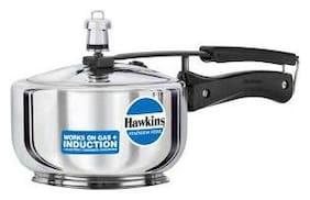 Hawkins Stainless Steel Induction Bottom Inner Lid Pressure Cooker - Set of 1