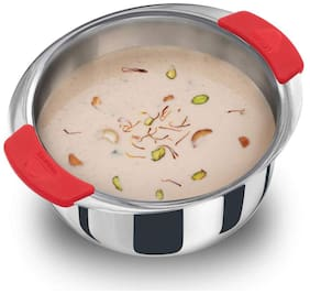 Hawkins Tri-Ply Stainless Steel Induction Compatible Metro Patila;2.5 Litre (SSP25)