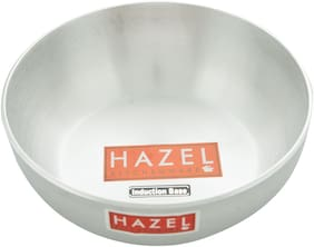 Hazel Aluminium Induction Tansra 4 mm, 2850 ml, Silver