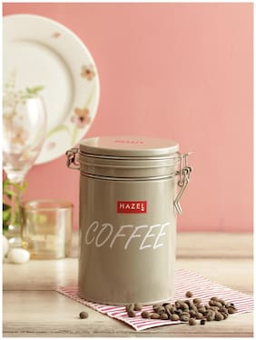Hazel Round Coffee Storage Cannister Container;1150ml