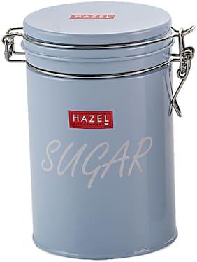Hazel Round Sugar Storage Cannister Container;1150Ml