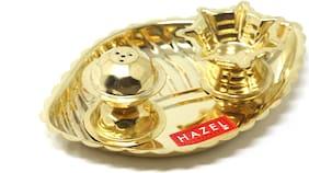 Hazel Shank Karma Pooja Thali