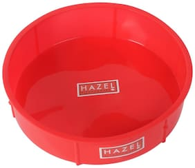 Hazel Small Silicon Round Cake Mould 15.5 Cm;1 Pc;Red