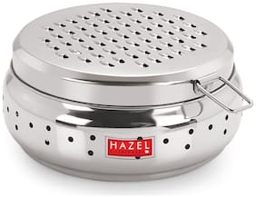 Hazel Stainless Steel Cheese Grater with Storage Container;13 cm;Small