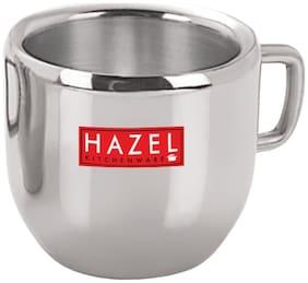 HAZEL Stainless Steel Green Tea Coffee Small Cute Cup, 1 pc, 100 ml