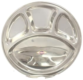 Hazel4 Compartment Lunch Plate -1 Pc
