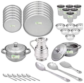 Hazzlewood stainless steel heay guage 36 pcs dinner set