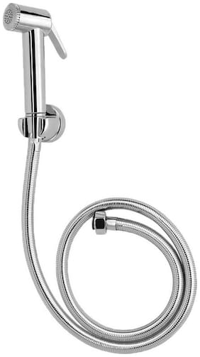 Dr. Homz N Kitch Wall Mount Stainless steel Health Faucets ( Push Controlled )