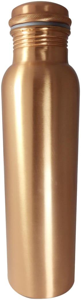 HEALTH MECHANIC Copper Brown Water Bottle ( 1000 ml , Set of 1 )