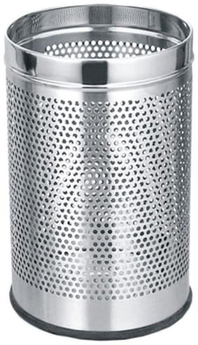 HEAVY QUALITY STAINLESS STEEL DUSTBIN