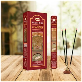 HEM Precious Chandan Incense Sticks Agarbatti (120 sticks)